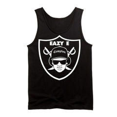 Eazy E Shield - Raiders 4 Life Tank Top