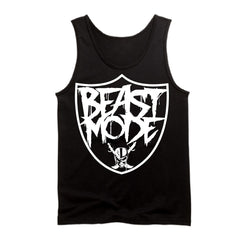 Beast Mode - Raiders 4 Life Tank Top