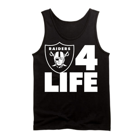 Raiders 4 Life Tank Top