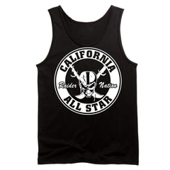 Cali All Star - Raiders 4 Life Tank Top