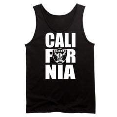 CALI FOR NIA - Raiders 4 Life Tank Top