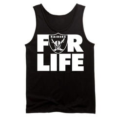 FOR LIFE - Raiders 4 Life Tank Top