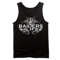 R4L Scroll Logo - Raiders 4 Life Tank Top