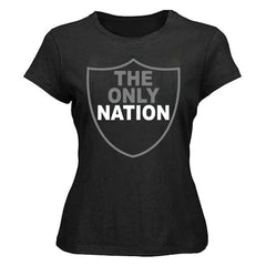 The Only Nation - Raiders 4 Life Women's Shirt
