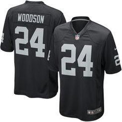 Charles Woodson - Oakland Raiders Home Jersey