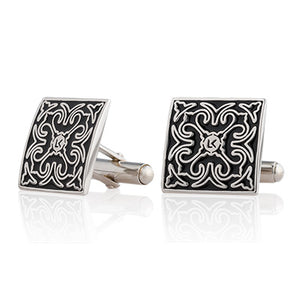 Signature Square Cuff Links by LUXCAER