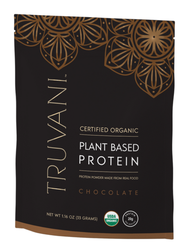 Plant Based Protein Powder (Chocolate w/ Chia) - Single Serving Pack