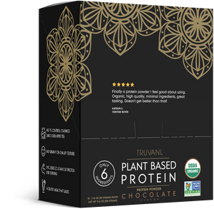 Plant Based Protein Powder (Chocolate w/ Chia) Single Serve - 10 Count Box