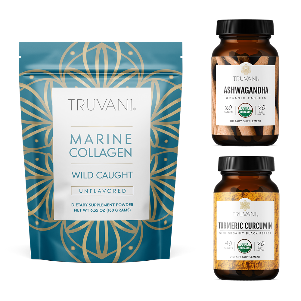 Renew Bundle (Collagen, Ashwagandha, Turmeric)