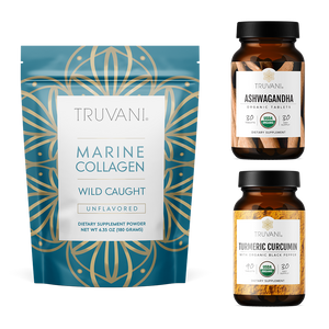 Renew Bundle (Collagen, Ashwagandha, Turmeric) Monthly Subscription