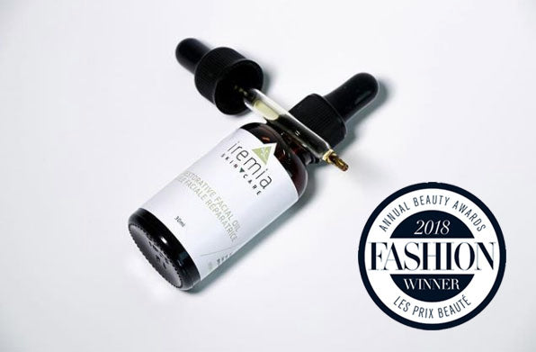 2018 Fashion Canada Award Winner - Best Facial Oil (over $50 Category)
