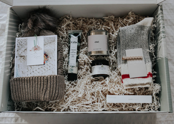 Winter Box Partnership with The Gift Refinery
