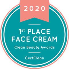 2020 CertClean Beauty Awards, Best Face Cream, The Soothing Lotion