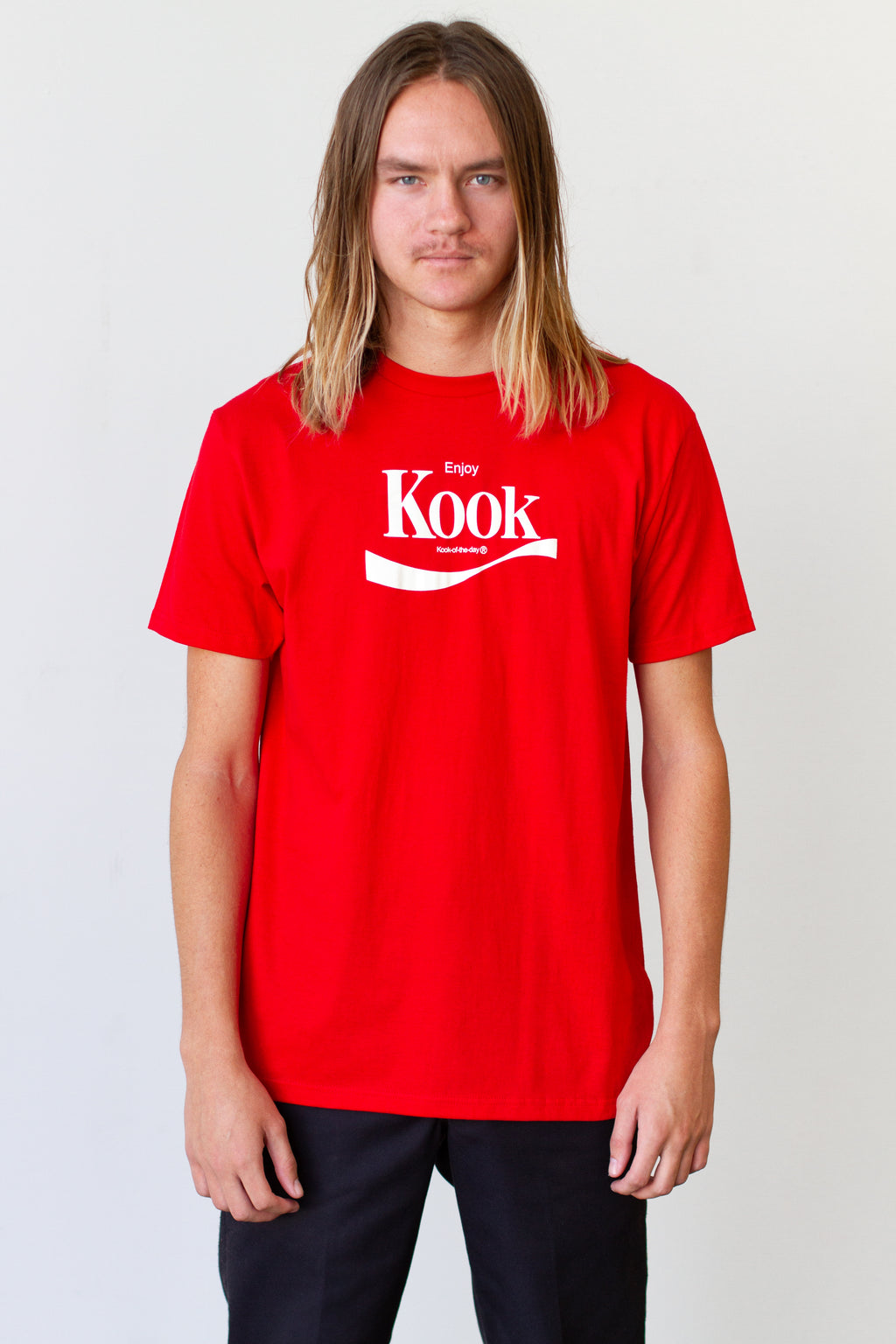Enjoy Kook Red Tee