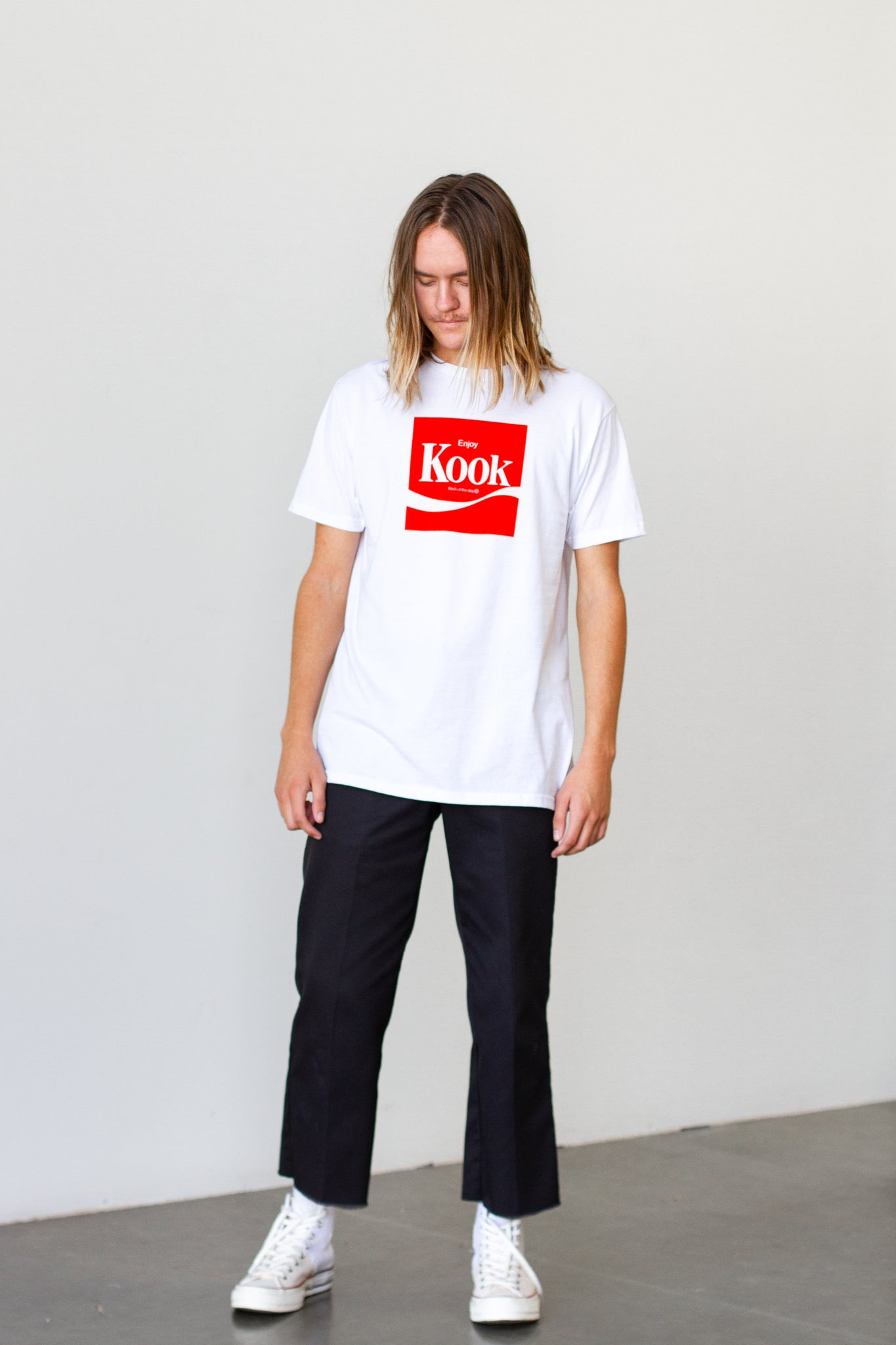 Enjoy Kook White Tee