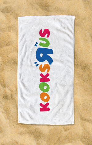 Kooks R Us Beach Towel