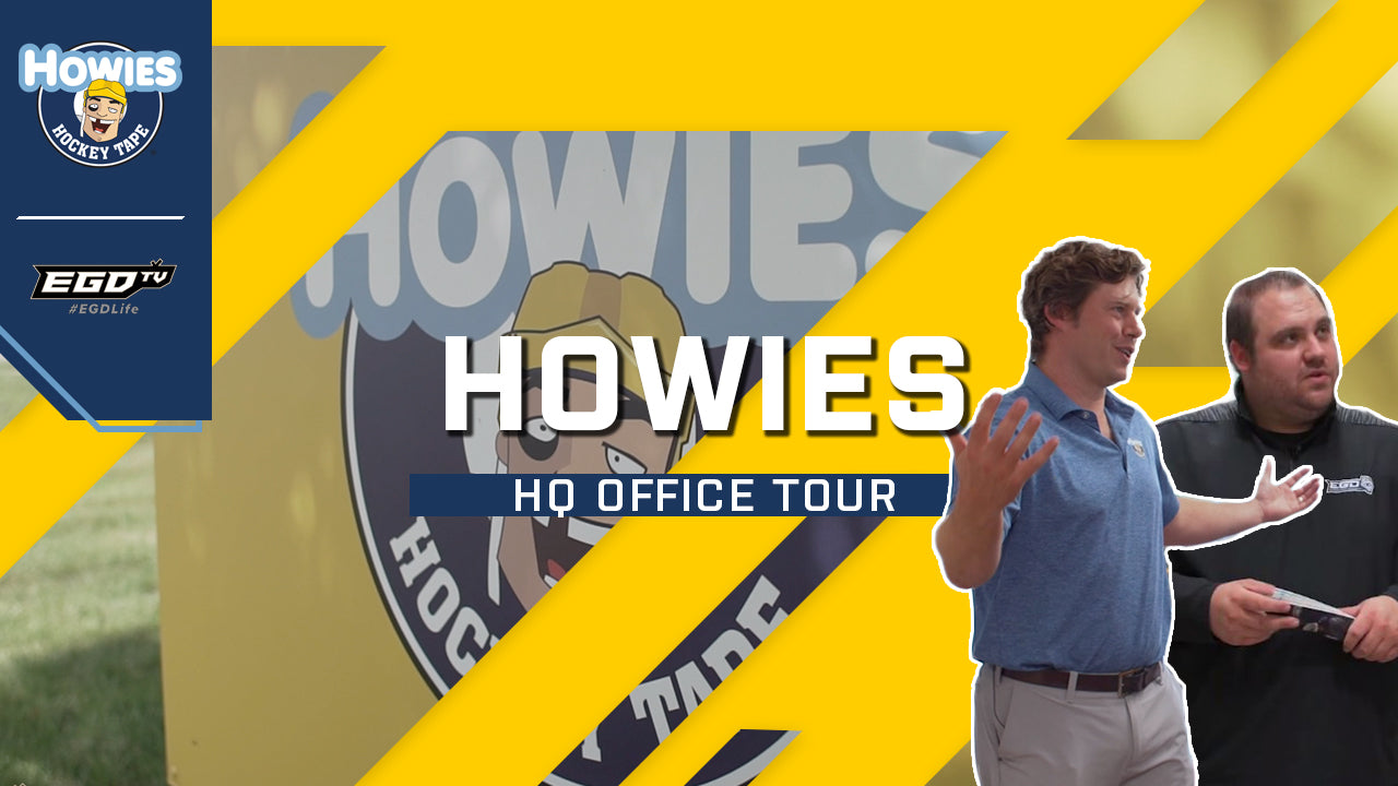 howies hockey tape office tour hockey tape hq headquarters behind the scenes howies office warehouse