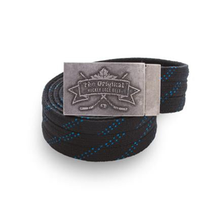 Howies Original Hockey Lace Belt- Belts-Black-Howies Hockey Tape