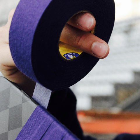 Howies Purple Cloth Hockey Tape