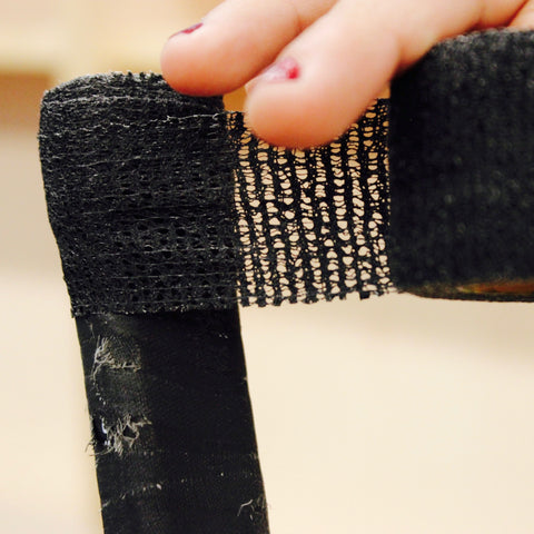 Howies Black Stretchy Grip Hockey Tape