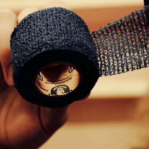 Howies Navy Stretchy Grip Hockey Tape