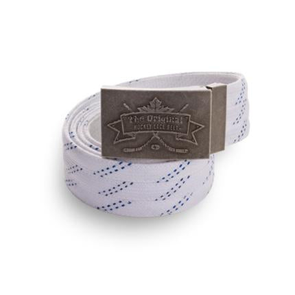 Howies Original Hockey Lace Belt- Belts-White-Howies Hockey Tape