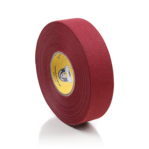 Howies Maroon Cloth Hockey Tape- Cloth Tape-1pk-Howies Hockey Tape
