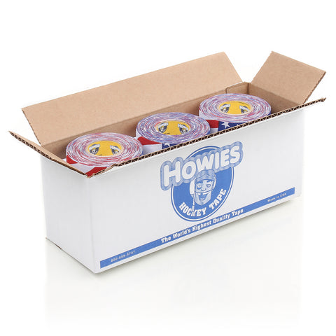 Howies USA Flag Hockey Tape- Cloth Tape-Bulk 12pk-Howies Hockey Tape