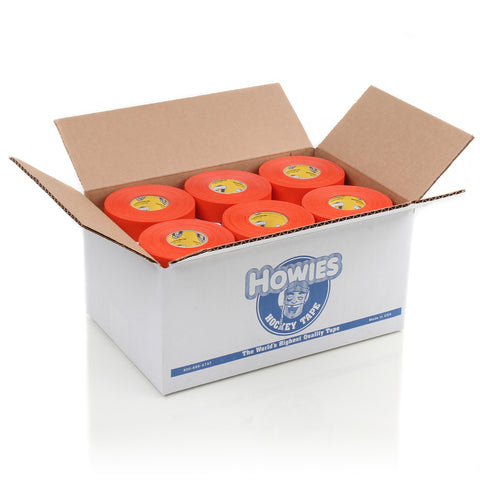 Howies Orange Cloth Hockey Tape- Cloth Tape-Bulk 30pk-Howies Hockey Tape