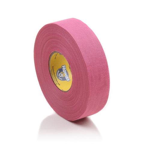 Howies Pink Cloth Hockey Tape- Cloth Tape-1pk-Howies Hockey Tape