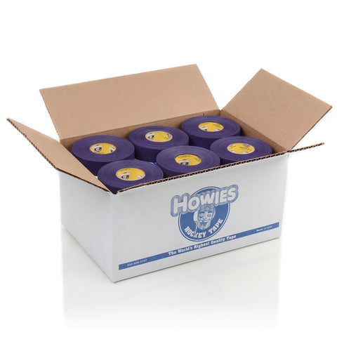 Howies Purple Cloth Hockey Tape- Cloth Tape- Bulk 36pk-Howies Hockey Tape