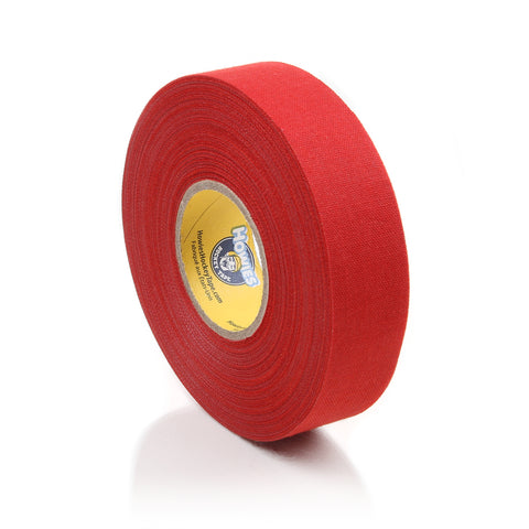 Howies Red Cloth Hockey Tape- Cloth Tape-1pk-Howies Hockey Tape