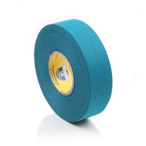 Howies Teal Blue Cloth Hockey Tape- Cloth Tape-1pk-Howies Hockey Tape
