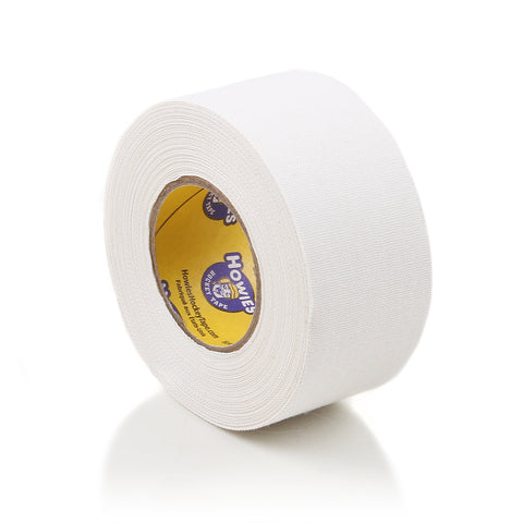 "Howies 1.5"" White Cloth Hockey Tape- Cloth Tape-1pk-Howies Hockey Tape"