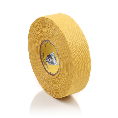 Howies Yellow Cloth Hockey Tape- Cloth Tape-1pk-Howies Hockey Tape