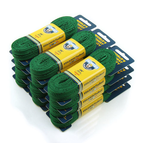 Howies Green Waxed Hockey Skate Laces