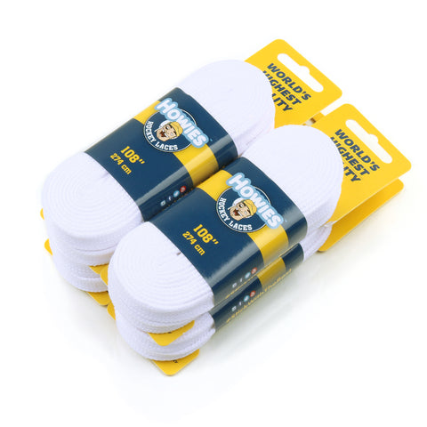 Howies White Cloth Referee Skate Laces
