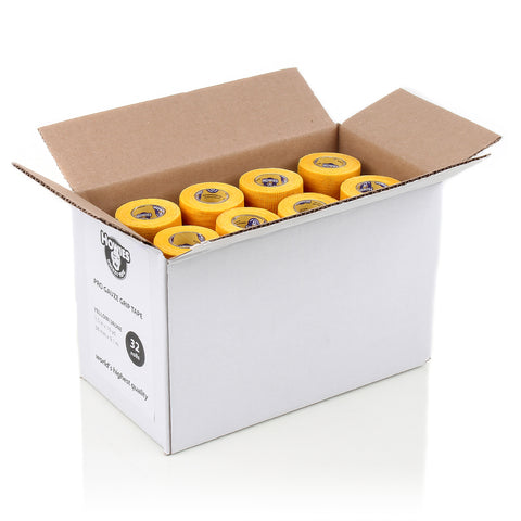 Howies Yellow Pro Grip Hockey Tape- Grip Tape-Bulk 32pk-Howies Hockey Tape