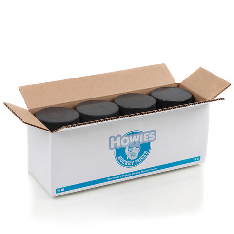 Howies Hockey Official Blank Bulk Hockey Pucks- Bulk 25pk - Howies Hockey Tape