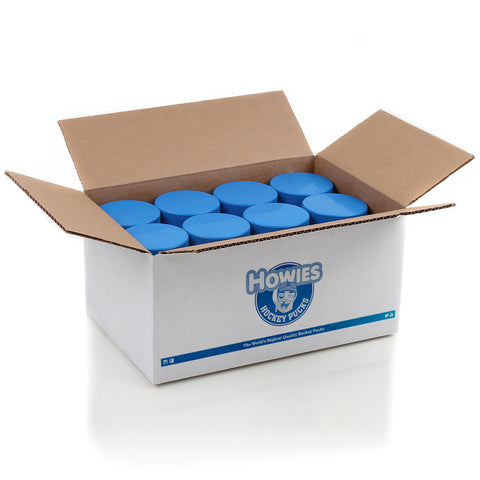Howies Blue 4oz. Hockey Pucks