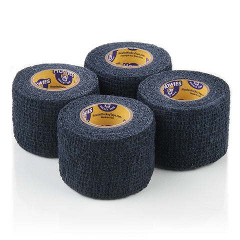 Howies Navy Stretchy Grip Hockey Tape- Grip Tape-4pk-Howies Hockey Tape