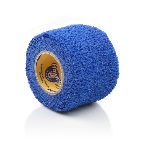 Howies Blue Stretchy Grip Hockey Tape- Grip Tape-1pk-Howies Hockey Tape