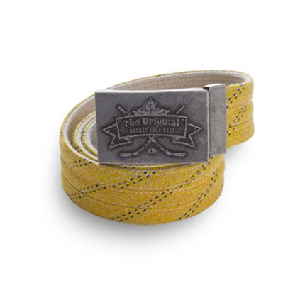 Howies Original Hockey Lace Belt- Belts-Yellow-Howies Hockey Tape