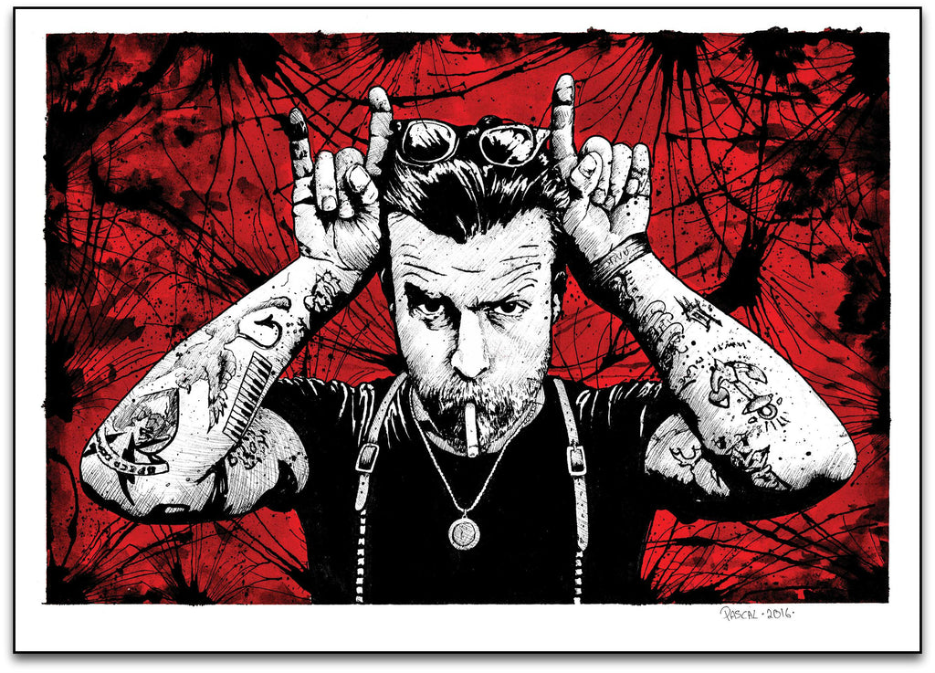 Jesse Hughes. Eagles of Death Metal.