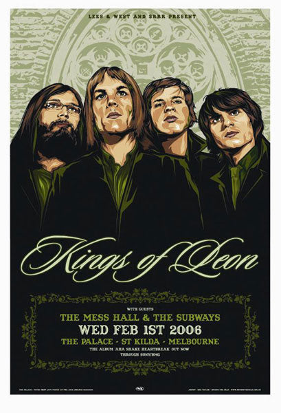 Kings of Leon Melbourne 2006