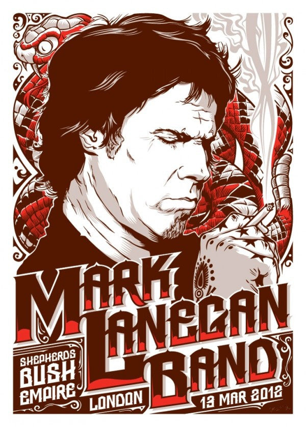 Mark Lanegan Band 2012
