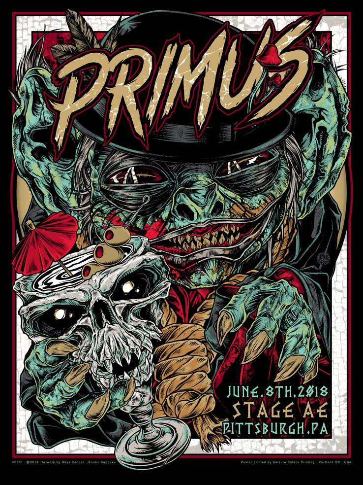 Primus, pittsburgh, June 8th.