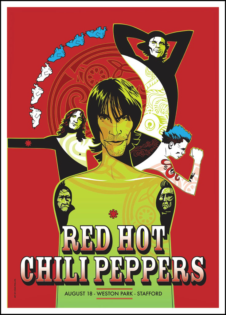 Red Hot Chili Peppers. UK