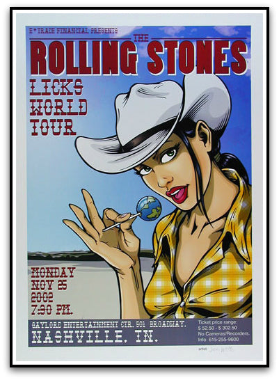 The Rolling Stones. licks world tour