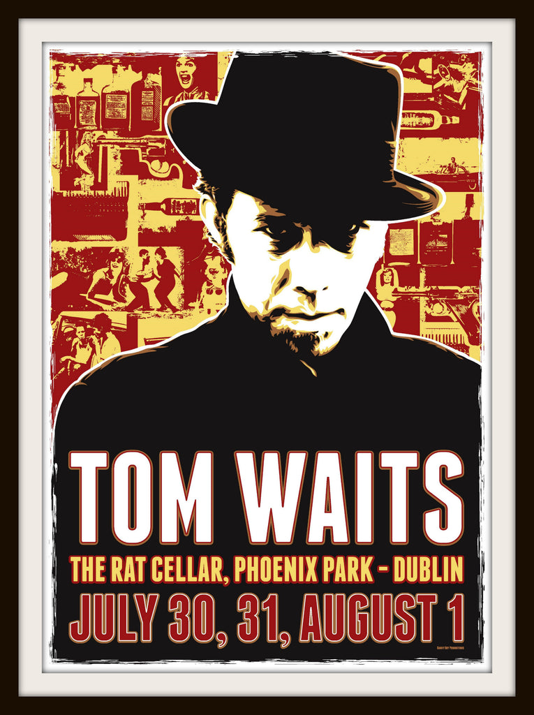 Tom Waits. dublin